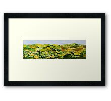 Walking Hills Framed Print