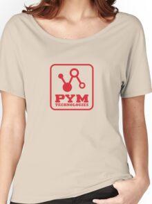 Pym Tech Red Logo Women's Relaxed Fit T-Shirt