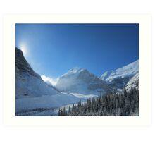 Plain of 6 Glaciers, Lake Louise Art Print