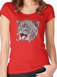 Predakitten Women's Fitted Scoop T-Shirt