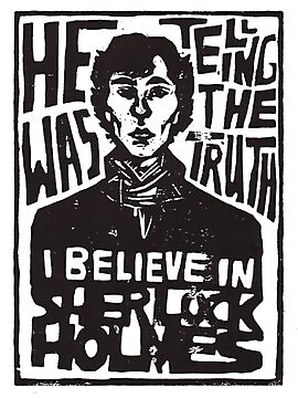 Sherlock was telling the Truth [white BG] by ukky