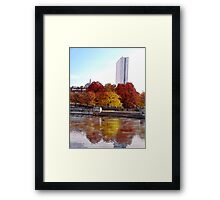 Back Bay Colors Framed Print