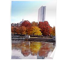 Back Bay Colors Poster