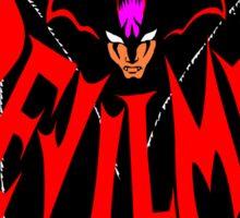 Beware, the (Goddamn) Devilman! Sticker