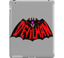 Beware, the (Goddamn) Devilman! iPad Case/Skin