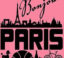 Bonjour Paris France by Maehemm
