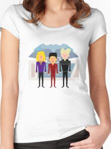 'Zoolander' tribute Women's Fitted Scoop T-Shirt
