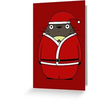 TotoClaus Greeting Card