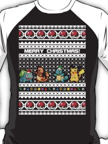 Pokemon Christmas Sweater T-Shirt