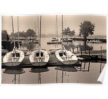 Charles Boats Poster