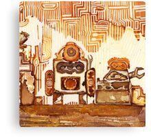 Rusty Robots I Canvas Print