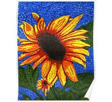 Van Gogh's Sunflowers Poster