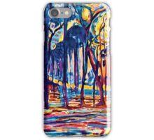 Mondrian Woods Near Oele iPhone Case/Skin