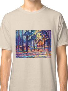 Mondrian Woods Near Oele Classic T-Shirt