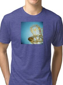 Yellow Fun Tri-blend T-Shirt