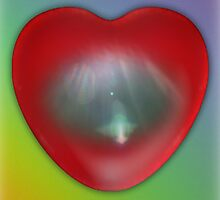 Vibrational Love Heart by Sarah Russell