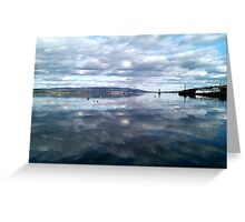 River Clyde, Scotland Greeting Card