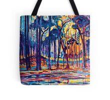 Mondrian Woods Near Oele Tote Bag