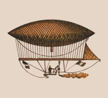 Vintage 1883 Flying Machine by Karin  Hildebrand Lau