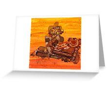Rusty Robots III Greeting Card