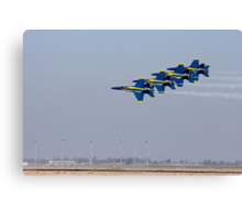 Blue Angels - Low and Fast Canvas Print
