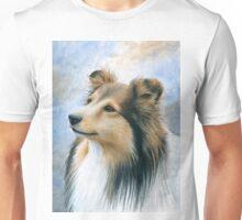 Dog 122 Sheltie Collie Unisex T-Shirt