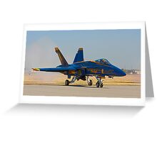 Blue Angels - Gentlemen Start Your Engines Greeting Card