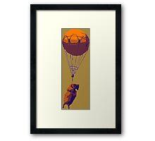 Flying Goat Framed Print
