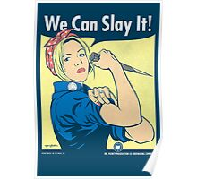 Buffy the Riveter Poster