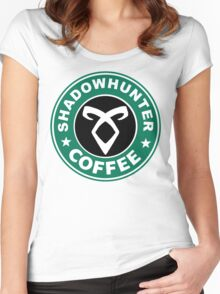Shadowhunter Coffee Women's Fitted Scoop T-Shirt