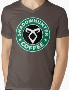 Shadowhunter Coffee Mens V-Neck T-Shirt