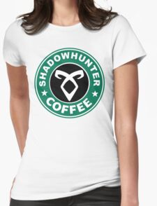 Shadowhunter Coffee Womens Fitted T-Shirt