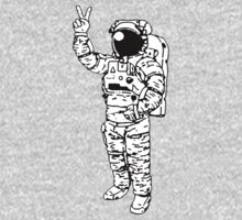 Astronaut Peace One Piece - Long Sleeve