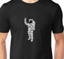 Astronaut Peace Unisex T-Shirt