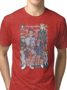 Anderson Family Portrait Tri-blend T-Shirt