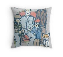 Anderson Family Portrait Throw Pillow