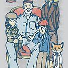 Anderson Family Portrait by AJ Paglia