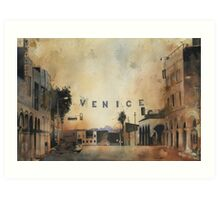 Venice, The most expensive slums on earth. Art Print