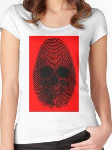 Identity Theft Women's Fitted Scoop T-Shirt