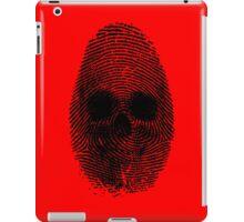 Identity Theft iPad Case/Skin