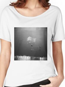 Abandoned Shopping Trolleys Like To Go Swimming Women's Relaxed Fit T-Shirt