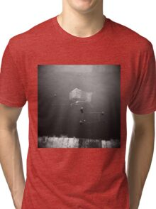 Abandoned Shopping Trolleys Like To Go Swimming Tri-blend T-Shirt