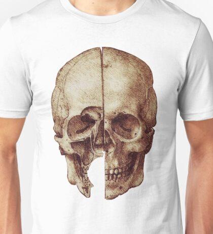 Da Vinci's skull Unisex T-Shirt