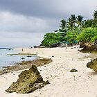 White Sand Beach Moal Boel  by Bo Insogna
