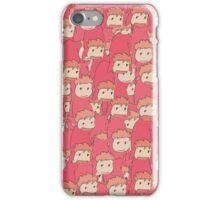 Ponyo sisters iPhone Case/Skin