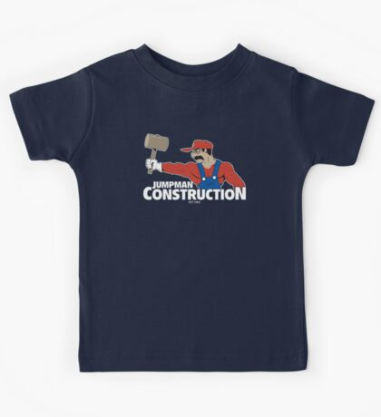Jumpman Construction Kids Tee