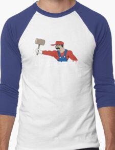 Jumpman Construction Men's Baseball ¾ T-Shirt