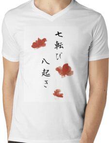 Fall seven times, get up eight Mens V-Neck T-Shirt