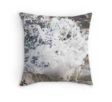 Sea-Rock Energy Throw Pillow