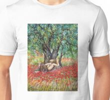 PAN, OLIVE TREE AND POPPY FIELDS Unisex T-Shirt
